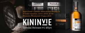 """Kininvie 25 y.o. Special Release #1 """"the first drops"""""""